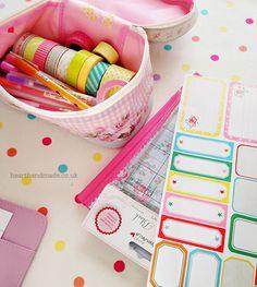 Inside My 2014 Pastel Planner
