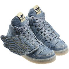 Jeremy Scott Wings Denim    #wsp #adidasOriginals #megasports @megasports www.megasports.com.ar