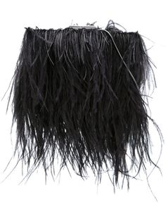 Marni Marni Woman Embellished Goat Hair And Feather Cape Black Size 38 o6yLNNjuJ