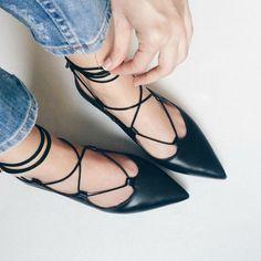 Como usar sapatilha lace up ou sapatilha com amarração