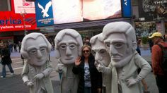 Watch for Mount Rushmore in the Macy's Thanksgiving Day Parade!!!
