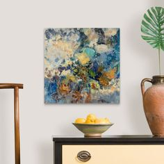 Best Abstract Paintings, Abstract Art, Canvas Frame, Canvas Art, Canvas Prints, Floral Wall Art, Cool Tones, Floating Frame, Frame Shop