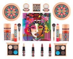 """""""#32 ~ M.A.C. New Theme! - Vibe Tribe!"""" by tashgirl ❤ liked on Polyvore featuring beauty and MAC Cosmetics"""