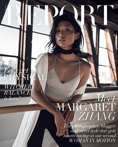 Margaret Zhang: Self-Portrait for REPORT cover story