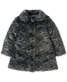 Calvin Klein Baby Girls' Faux Fur Coat - Kids & Baby - Macy's