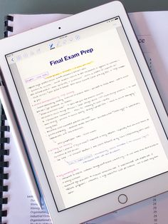 adagnito: from ipad to printed notes, courtesy of... - Study Like a Ravenclaw