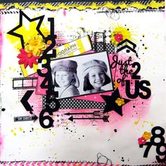 Another one of my DT layouts for 2 Crafty Chipboard.  By Di Garling