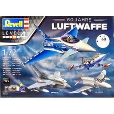 Maquette 1/72 - Coffret 60 Ans de la Luftwaffe - REVELL