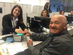 Aos 83 anos de idade, Waldomiro Silva contou que adora dirigir. Morador de Capela do Alto, ele foi ao Poupatempo Tatuí renovar a sua CNH.