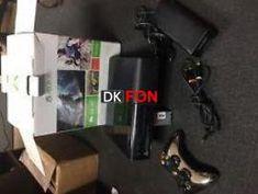 Microsoft Xbox 360 E 250GB Black Console