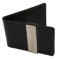 Met Opera Money Clip Wallet