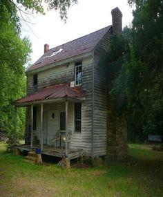 Old farm house Smokey Mountains