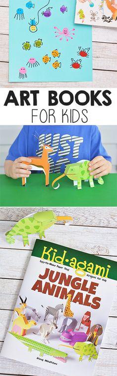 ) - A Kinderteacher Life Best Art Books, Art Books For Kids, Best Books List, Art For Kids, Children's Books, Book Lists, Cute Kids Crafts, Craft Activities For Kids, Craft Ideas