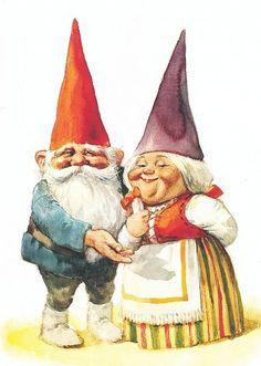 David de Kabouter ( couple de gnomes)