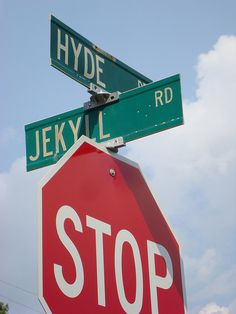Jekyll  Hyde - Hmm, which way should I go today? Someone had sense of humor