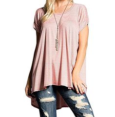 Poppy Smooches Short Sleeve Tunic Top with Scoop Neck Pop... http://www.amazon.com/dp/B01F9KBNCE/ref=cm_sw_r_pi_dp_Th5oxb16XEMEV