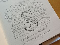 Doin' a skillshare! #typography #design #inspiration