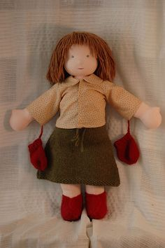 waldorf doll - nice clothes