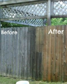 How to get rid of all the mildew on your deck!  It's easier than you think!
