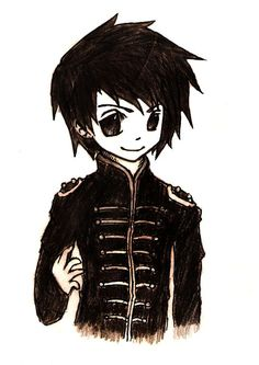 Image result for gerard way anime