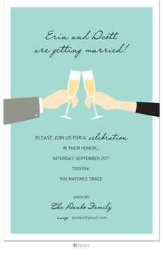 Fun engagement party invitation wording engagementinvitations engagement party invitemple and to the point stopboris Gallery