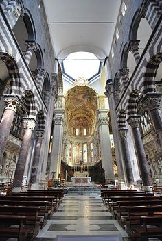 GENOA:   Genoa Cathedral, province of Genoa , Liguria