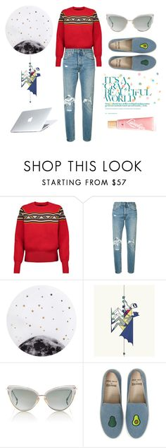 """ALive"" by blackyogurtgirl ❤ liked on Polyvore featuring Isabel Marant, Levi's, Lollipop, Monde Mosaic, Dita, Soludos, Dyson and Lano"