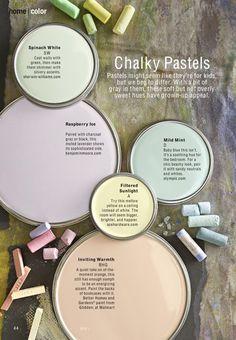 Loving: Chalky Pastels BHG