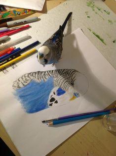 Merlin http://blacksmokeistheanswer.tumblr.com/post/54427804696/merlin-loves-his-fan-art-btw-hes-wet-because