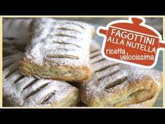 FAGOTTINI ALLA NUTELLA - ricetta velocissima - YouTube