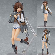 AmiAmi [Character & Hobby Shop] | figma - Kantai Collection -Kan Colle- Yukikaze(Released)