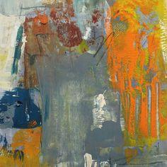Sunset Cove Original Abstract Painting by christinevonderlack