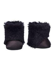Honey Girls Black Faux Fur Boots | Build-A-Bear