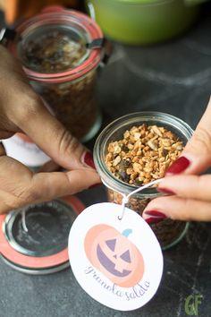 granola salata con avena grano saraceno e semini