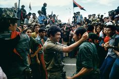 34 years ago today, the Sandinista National Liberation Front entered Managua, after a year and a half of mass people's insurrection, and officially overthrew the flailing Somoza dynasty that had ruled Nicaragua as a proxy for U.S. interests since 1936. President Anastasio Somoza Debayle had fled the capital two days earlier.