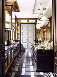 The Most Breathtaking French Kitchens We Want to Cook In via @MyDomaine