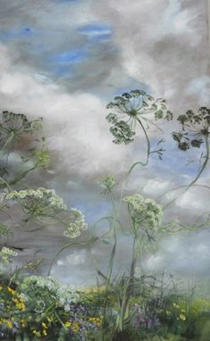 Claire Basler ~ this would be perfect in my Granddaughters fairy bed room :)