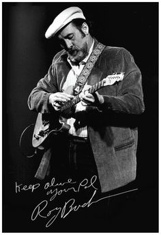 Roy Buchanan with his Telecaster ~Nancy