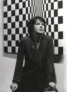 Artist Bridget Riley,1979 | One of Britain's best-known Op artists whose career has spanned over 50 years