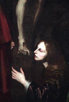 Magdalena al peu de la Creu (detall) Josep de Ribera (L'espanyoleto)