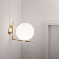 IC Lights C/W Wall & Ceiling Lamp designed by Michael Anastassiades, Flos. Contemporary Lighting, Wall Ceiling Lights, Lamp Design, Modern Ceiling, Interior, Wall Lamp, Ceiling Lamp, Wall Sconces, Lights