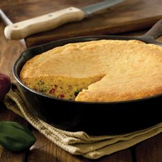 From the Capper's Farmer archives comes this Spicy Skillet Cornbread Recipe made in your cast iron pan.