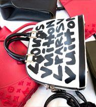 Authenticating designer bags