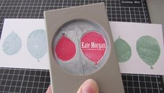 Very Handy Tip that you must share - how to line up the Balloon Bouquet Punch with the Balloon Celebration stamps visit http:cardsbykate.wordpress.com for more details. #stampinup Occasions 2016