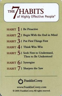 Quotes about Success: QUOTATION - Image : Quotes Of the day - Description The 7 Habits of Highly Effective People - Stephen Covey Highly Effective People, Citations Business, Business Quotes, Business Cards, Leadership Development, Self Development, Personal Development, Effective Leadership Skills, Professional Development
