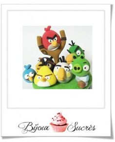 modeler les personnages de angry birds