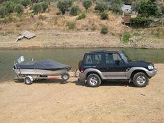 Barco 4,20m com motor Honda 50hp com Trim a 4T - à venda - Barcos, Santarém - CustoJusto.pt Honda, Motor, To Sell, Boats