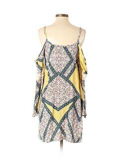 Xhilaration Rayon Yellow Casual Dress Size S - off Modern Wardrobe, Casual Dresses, Cold Shoulder Dress, Swimsuits, Yellow, Stylish, Clothes, Women, Fashion