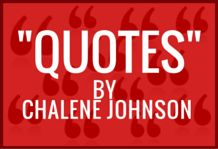 Quotes by Chalene Johnson