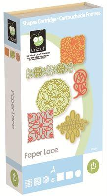 Paper Lace Cricut Cartridge